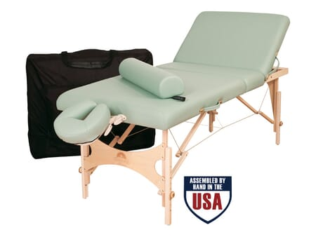 Alliance Wood Essential Massage Table Package