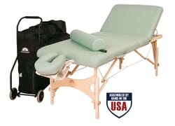 Alliance Wood Traveler Massage Table Package