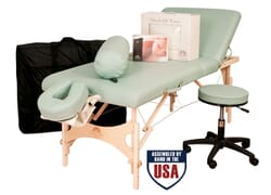 Alliance Wood Ultimate Massage Table Package