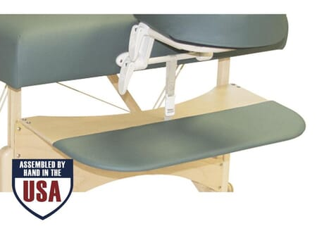 Arm Rest Portable Wooden Massage Table