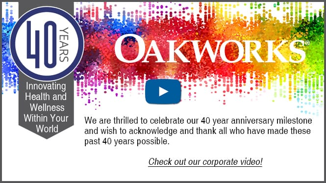 Oakworks 40th Anniversary Video