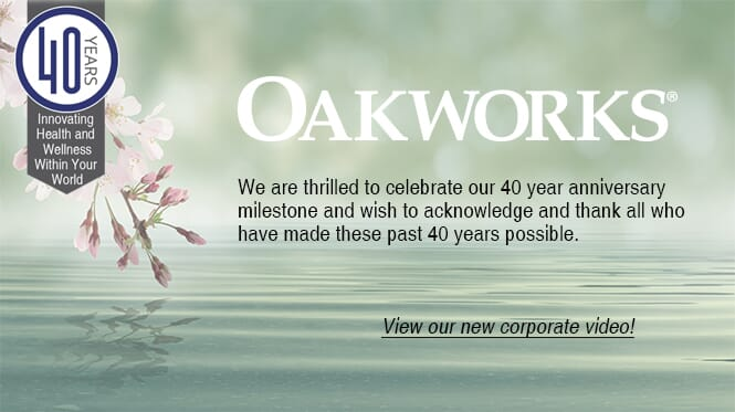 Oakworks 40th Anniversary Video