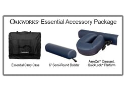Essential Massage Table Accessory Package