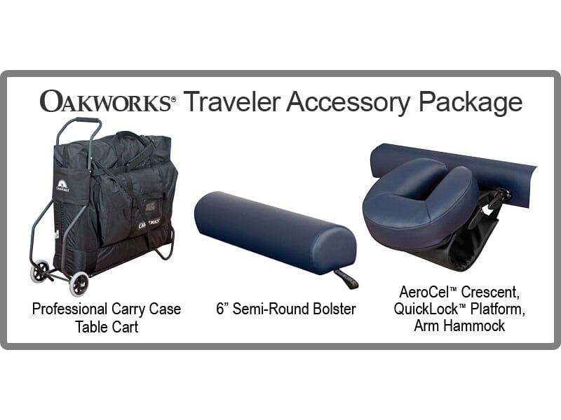 Oakworks Table Cart