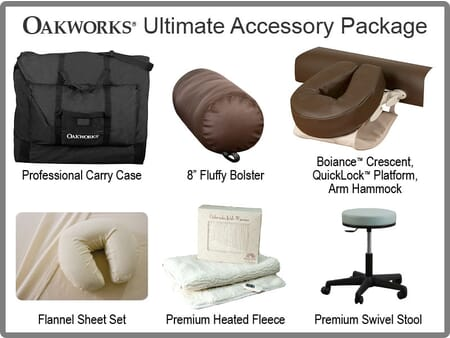 Ultimate Massage Table Accessory Package