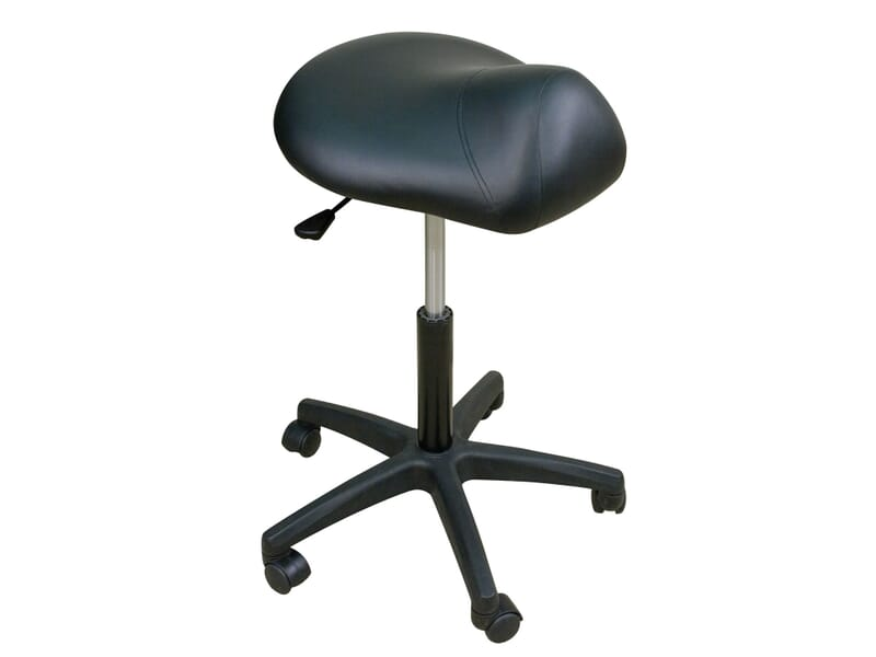 Oakworks Spa Premium Saddle Seat Stool Low Height Spa