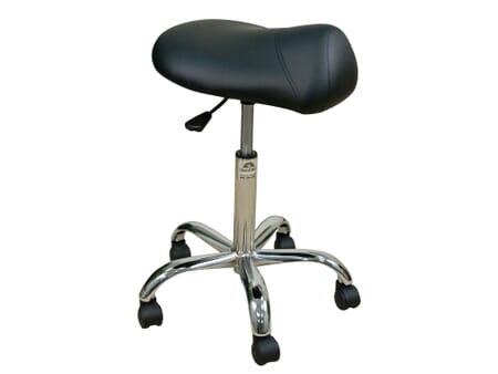 Professional Saddle Seat Stool Low Height