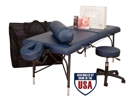 Wellspring Ultimate Massage Table Package